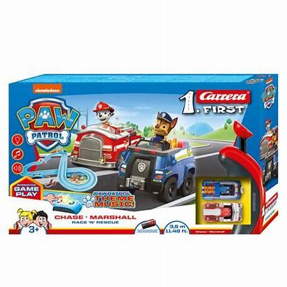 Patrol Paw Carrera Rescue Race Circuit Team
