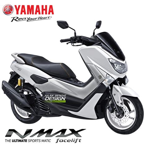 Nmax 2018 Putih by Yamaha Nmax Facelift 2018 Putih Kobayogas Your