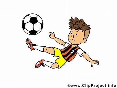 Clipart Cartoon Fussballer Grafik Bild Ball Fussballspieler