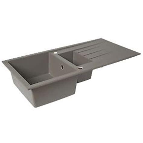 screwfix kitchen sinks plastic resin kitchen sink drainer grey 1 5 bowl 2130