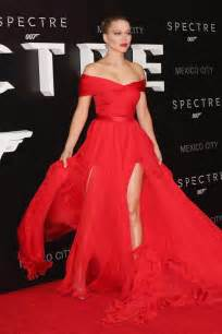 Dress Red Carpet by Lea Seydou Off The Shoulder Red Carpet Dress Spectre