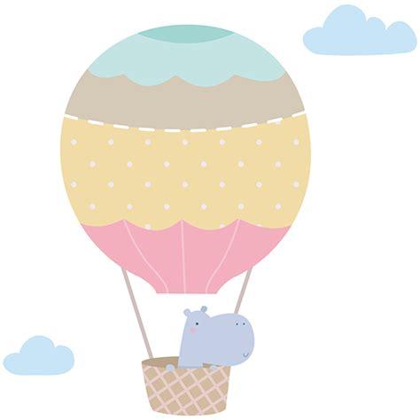 Wandtattoo Kinderzimmer Nilpferd by Wandtattoo Kinder Der Ballon Das Nilpferd Webwandtattoo