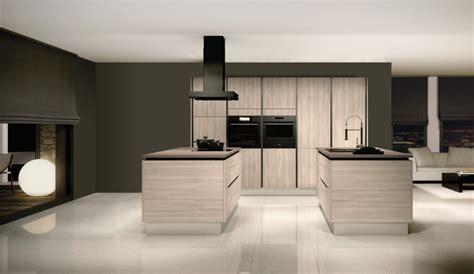 cuisine noir ikea cuisine élégante avec îlots modèle référence