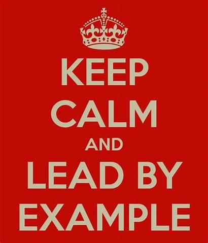 Example Calm Lead Keep Leader Leadership Church