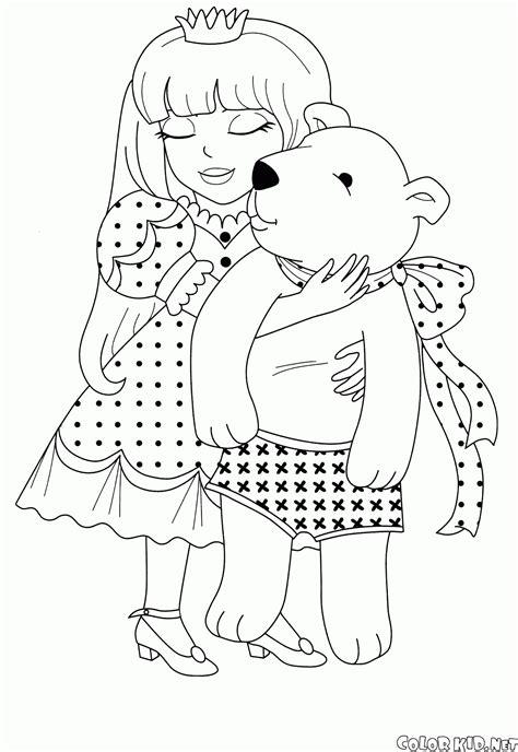 disegni da colorare principessa juliet