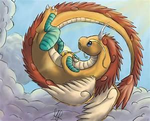 Mega Dragonite: King of the skies by Agryo on DeviantArt
