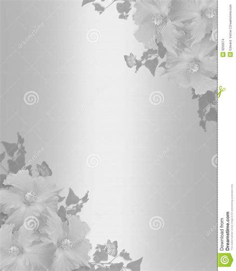 hochzeitseinladung hibiscus hintergrund satin stock