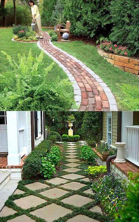 beautiful diy garden path ideas diy backyard