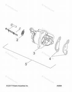 Polaris Side By Side 2018 Oem Parts Diagram For Brakes