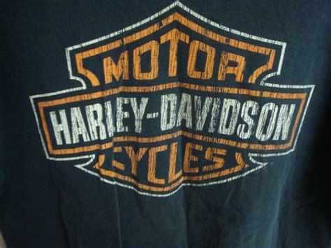 Harley Davidson Motorcycles Mens Tee Shirt Large L Black