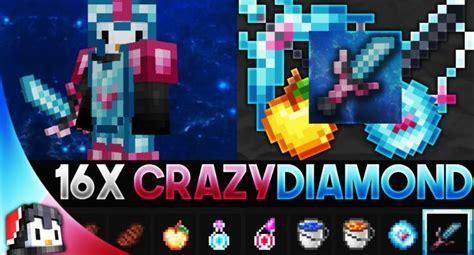 Crazy Diamond 16x Mcpe Pvp Texture Pack Gamertise