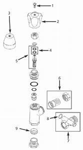 Lockshield Radiator Valve Angle Pattern For Copper Or Iron