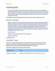 Setup Guide Template  Apple Iwork Pages   U2013 Templates
