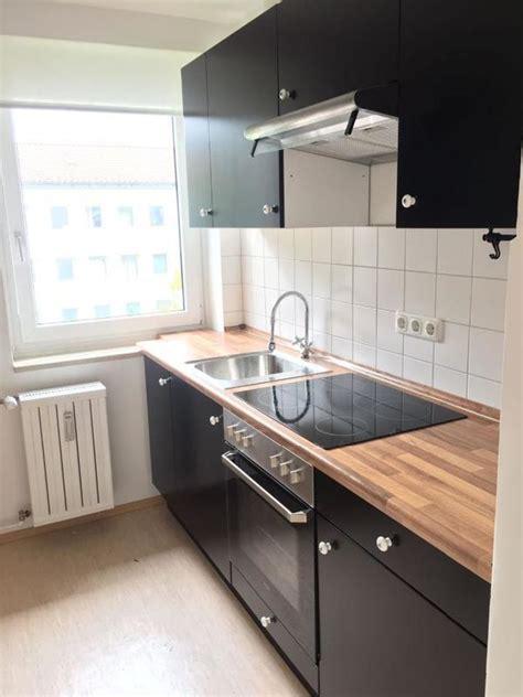 Ikea Küchen Schwarz by Ikea Faktum K 252 Che Mit Applad Front In Schwarz In Mainburg