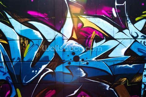 graffiti urban wallpaper mural wallsauce uk