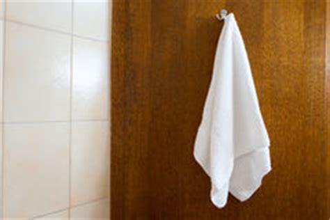 towel draping hanging white towel stock photos image 32891823