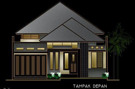 denah rumah klasik modern  lantai