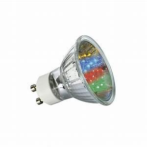 Ampoule Led Couleur : ampoule 20 led couleurs gu10 lux et d co ~ Melissatoandfro.com Idées de Décoration