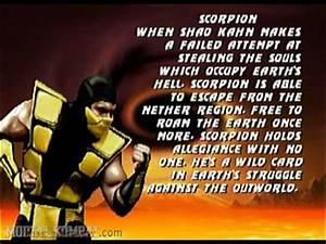 Mortal Kombat Trilogy - Nintendo 64 - Scorpion - Biography ...