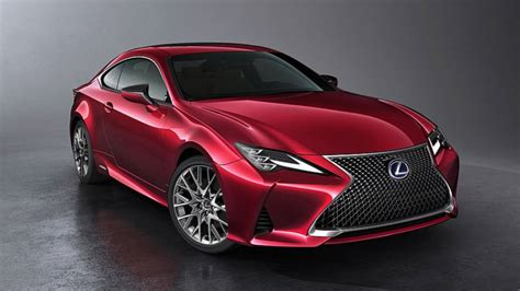 2019 Lexus Rc Heading To Paris Motor Show With Numerous Tweaks