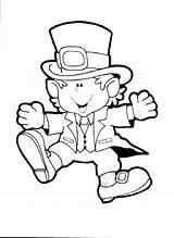Leprechaun Coloring Pages Printable Sheets Via Educative sketch template
