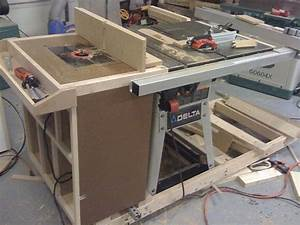 Front of the table saw Router Pinterest Garage