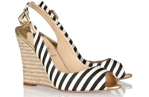 christian louboutin wedding shoes striped bridal wedges christian louboutin wedding shoes 2919