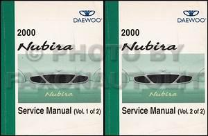2000 Daewoo Nubira Owner U0026 39 S Manual Original