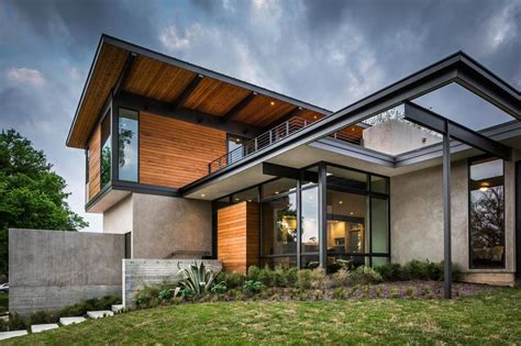 Moderne Architektur Satteldach by Modern Architecture And Spacious Roof Deck Barton