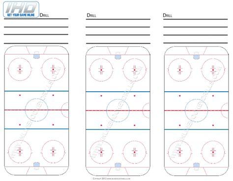 blank rink downloads inline hockey drills