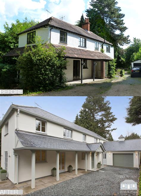 remodelling transformation    front exterior