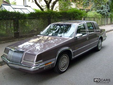1993 Chrysler Imperial by 1993 Chrysler Imperial Car Photo And Specs