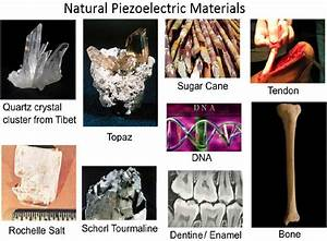 Natural Piezoelectric Materials That Produce Electricity Under Pressure