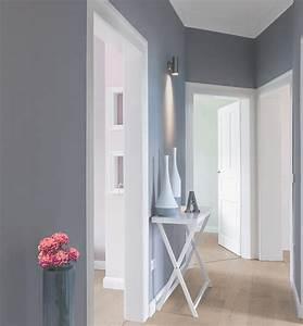 Farben Für Den Flur : flur der blaue eindruck kolorat ~ Sanjose-hotels-ca.com Haus und Dekorationen
