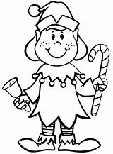 Elf Coloring Pages Shelf Christmas Clipartmag sketch template