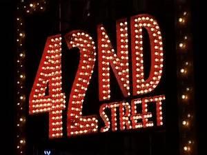 Neon lights New York 42 st Neon Lights