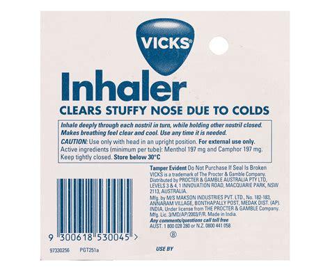 2 X Vicks Inhaler 05ml Great Daily Deals At Australias