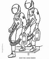 Astronaut Coloring Pages Printable Space Astronauts Print Printables Nasa American Getcoloringpages Go Help Usa Printing sketch template