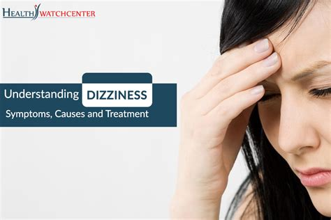 Symptoms And Causes Of Dizziness