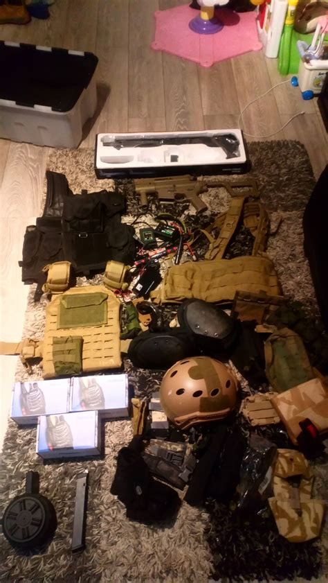 Bulk job lot of gear and rifs - Other Electric - Airsoft ...
