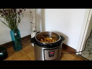 Kartoffeln Im Schnellkochtopf : kartoffeln kochen im instant pot youtube ~ Watch28wear.com Haus und Dekorationen