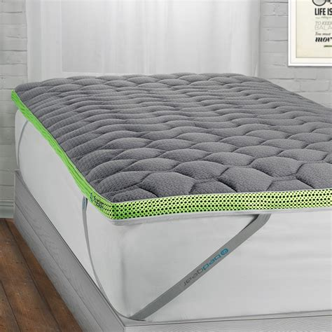 Bed Topper by Fusion Dri Tec Mattress Topper Moisture Wicking Foam