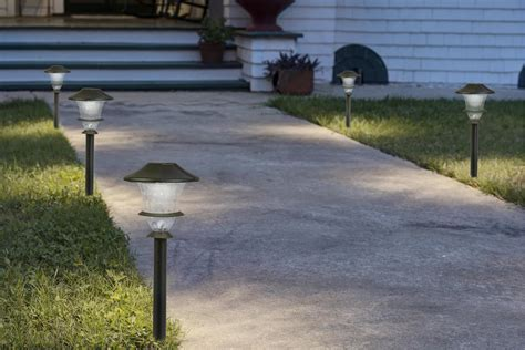 paradise gl33966bk low voltage cast aluminum led path
