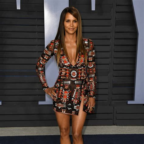 Halle Berry praises yoga benefits as she shares topless ...