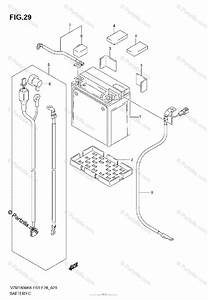 Suzuki Motorcycle 2007 Oem Parts Diagram For Battery