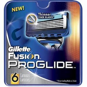 Gillette Fusion Proglide Blades Manual 6 Ea  Pack Of 3
