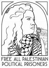 Coloring Palestine Palestinian Prisoners Version Translation Interpretation Caption Text Zola sketch template