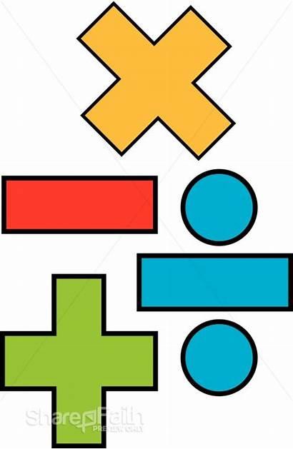 Math Clipart Arithmetic Symbols Mathematics Symbol Geometry