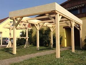 Abris De Terrasse En Kit : abriboa abri carport toit plat 1 voiture ~ Dailycaller-alerts.com Idées de Décoration