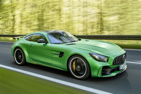 The insanity concludes soon with the 2015. Green Mercedes-AMG GT R | HYPEBEAST